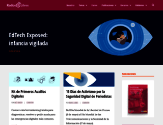 radioslibres.net screenshot