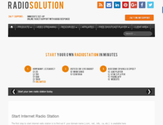 radiosolution.biz screenshot