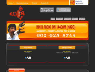 radiosri.com screenshot