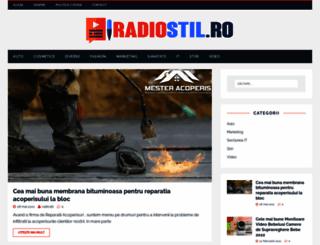 radiostil.ro screenshot