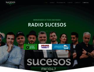 radiosucesos.com screenshot