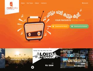 radiotalky.com screenshot