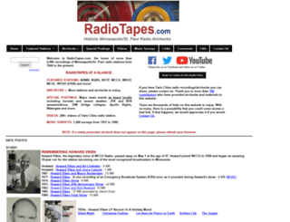 radiotapes.com screenshot