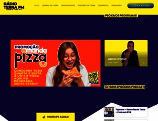 radioterrafm.com.br screenshot