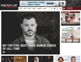 radiotexaslive.com screenshot