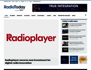 radiotoday.co.uk screenshot