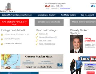 radiotvdeals.com screenshot