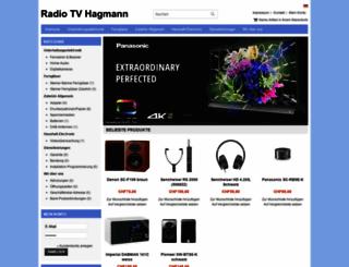 radiotvhagmann.ch screenshot