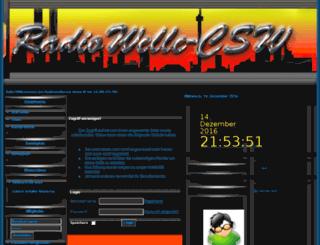 radiowellecsw.de screenshot