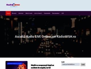 radiowish.ro screenshot