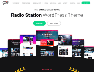 radiowordpresstheme.com screenshot
