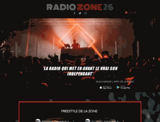 radiozone26.com screenshot