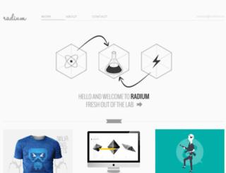 radium.ro screenshot