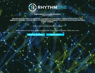 radiumone.com screenshot