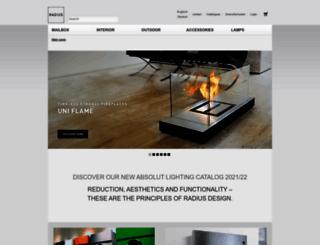radius-design.com screenshot