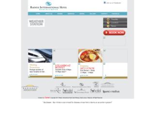 radius-international.com screenshot