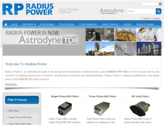 radiuspower.com screenshot