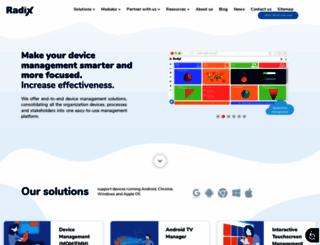 radix-int.com screenshot