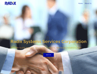 radixsys.com screenshot