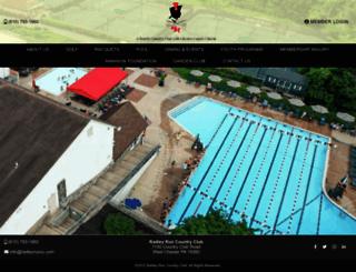 radleyruncountryclub.com screenshot