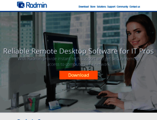 radmin.com screenshot