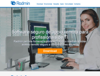 radmin.com.pt screenshot