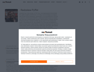 radoslawpyffel.natemat.pl screenshot