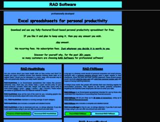 radsoftware.org screenshot