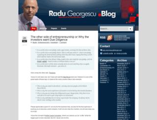 radugeorgescu.ro screenshot