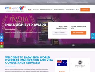 radvisionworld.com screenshot
