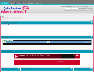 radyokonferans.com screenshot