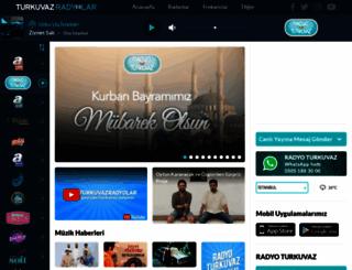 radyoturkuvaz.com screenshot