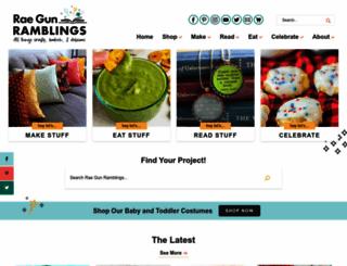 raegunramblings.com screenshot