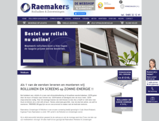 raemakers.nl screenshot