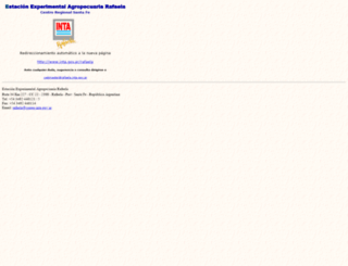 rafaela.inta.gov.ar screenshot