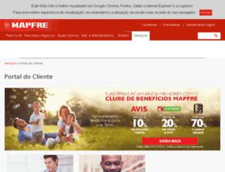 rafaelax.clubmapfre.com.br screenshot