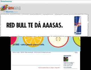 rafaeleluf.arteblog.com.br screenshot