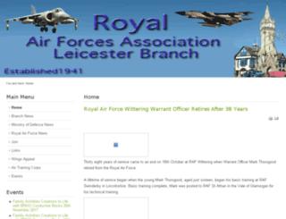 rafaleicester.org.uk screenshot