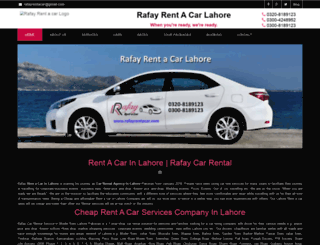 rafaycars.com screenshot