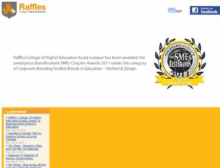 raffles-international-college.edu.my screenshot