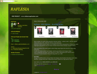 raflesia-application.blogspot.com screenshot