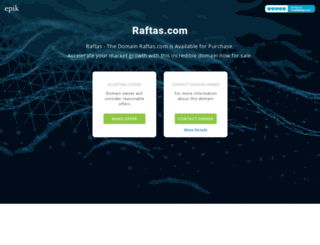 raftas.com screenshot