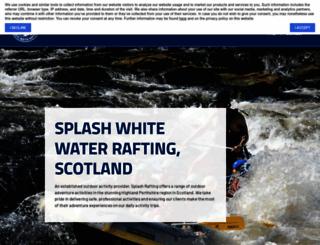 rafting.co.uk screenshot