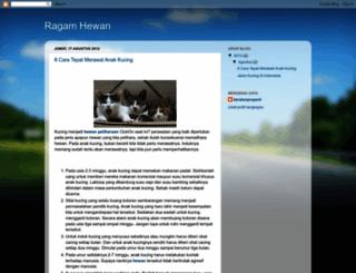 ragamhewan.blogspot.com screenshot
