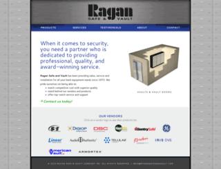ragansafeandvault.com screenshot