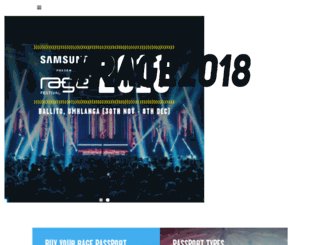 ragefestival.co.za screenshot