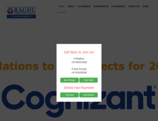raghuenggcollege.com screenshot