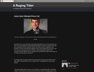 ragingtitter.blogspot.com screenshot