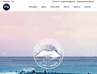 raglansurfingschool.co.nz screenshot