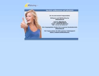 ragnaroek.alfahosting.org screenshot